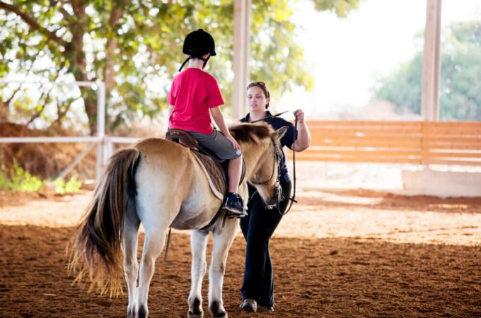 How equine therapy helps to improve physical, intellectual, emotional condition