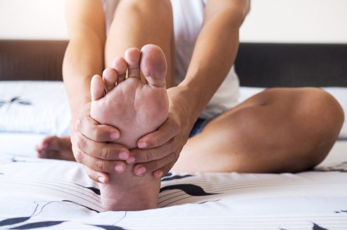 Causes of plantar fasciitis after training